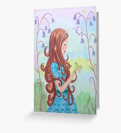The princess and the frog Greeting Card
