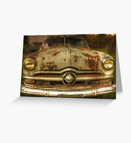1950 Ford Coupe Greeting Card