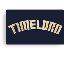 Doctor Who Timelord Canvas Print
