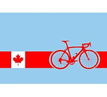 Bike Stripes Canadian National Road Race Photographic Print