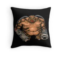 Mancubus Throw Pillow