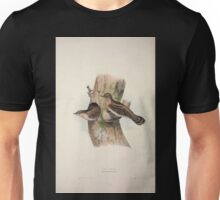 John Gould The Birds of Europe 1837 V1 V5 233 Wry Neck Unisex T-Shirt
