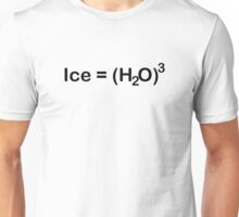 Ice Equals Water Cubed Unisex T-Shirt