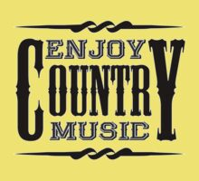 Enjoy Country Music Baby Tee