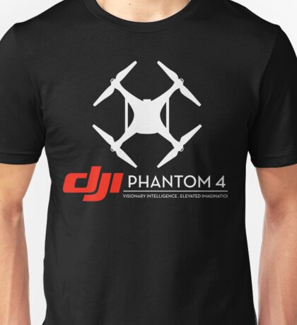 DJI Phantom 4 Drone black Unisex T-Shirt
