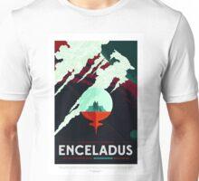 Vintage Beautiful Southern Enceladus Space Travel Unisex T-Shirt