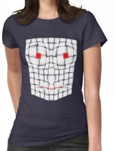 frightening mask Womens Fitted T-Shirt