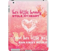 Her Baby Hands and Feet iPad Case/Skin