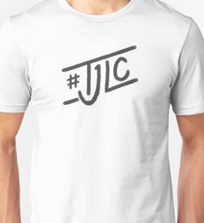 #TJLC text, dark Unisex T-Shirt