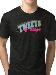 FFO: ALL CAPS TWEETING Tri-blend T-Shirt