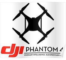 DJI Phantom 4 Drone  Poster