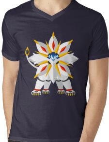 Solgaleo Mens V-Neck T-Shirt