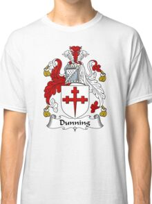 Dunning Coat of Arms / Dunning Family Crest Classic T-Shirt