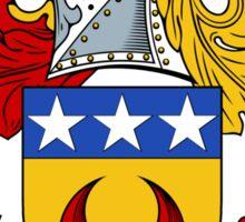 Durham Coat of Arms / Durham Family Crest Sticker