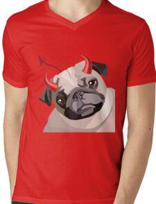 The Devilg Mens V-Neck T-Shirt