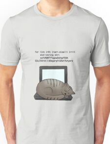 Coding Cat Unisex T-Shirt