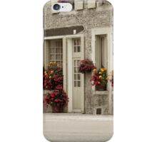 Flowers in the streets iPhone Case/Skin
