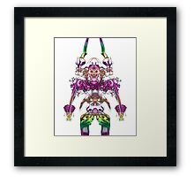 Alien Viking Warrior Framed Print