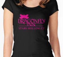 Gilmore Girls - Dragon Fly Inn Women's Fitted Scoop T-Shirt