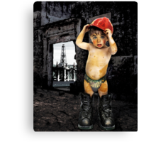 Campaign Memories: Baby Drill  Canvas Print