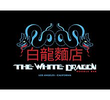 White Dragon - Noodle Bar (Cantonese Variant) Photographic Print