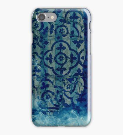 mosaic in cyan iPhone Case/Skin