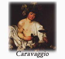 Caravaggio - Bacchus by William Martin