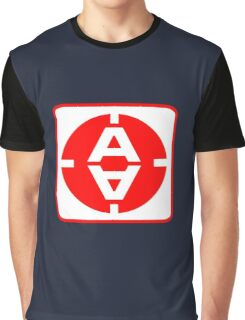 Space 1999 Moonbase door sign Graphic T-Shirt
