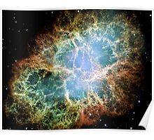 The Crab Nebula Space Poster