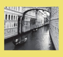 Passing under the Bridge of Sighs One Piece - Short Sleeve