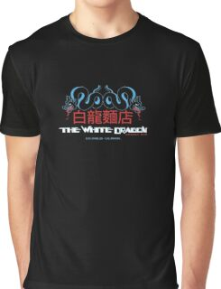 White Dragon - Noodle Bar (Cantonese Variant) Graphic T-Shirt
