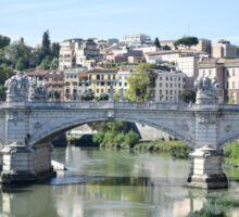 Rome - Ponte Vittorio Emanuele II  Sticker