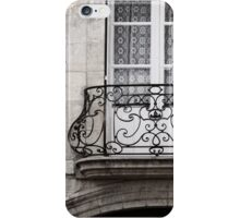 French balcony iPhone Case/Skin