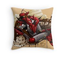 Cherry Sundae Throw Pillow