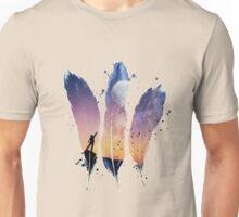 FEATHERS / MOON BALLOON Unisex T-Shirt