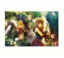 Legend Mana Art Print