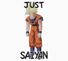 Dragon Ball / Dragonball Z / DBZ - Just Saiyan Kids Tee