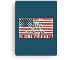Don't Tread On Me Canvas Print