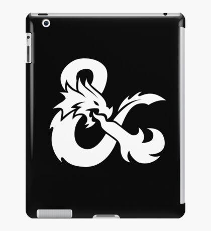 DND White Logo iPad Case/Skin