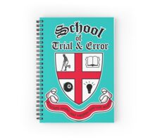 School of Trial & Error Spiral Notebook