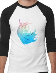 °FINAL FANTASY° Final Fantasy IV Rainbow Logo Men's Baseball ¾ T-Shirt