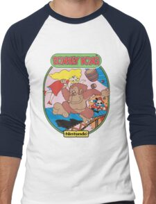 Donkey K Men's Baseball ¾ T-Shirt