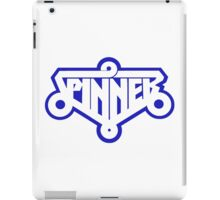 SPINNER - BLADE RUNNER FLY CAR (BLUE) iPad Case/Skin