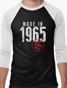 Made In 1965, All Original Parts Men's Baseball ¾ T-Shirt