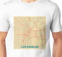 Los Angeles Map Retro Unisex T-Shirt