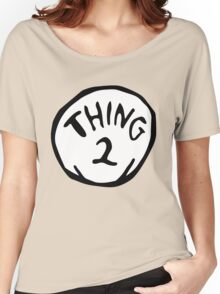 thing 2 - thing 1 and thing 2 Women's Relaxed Fit T-Shirt
