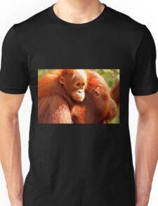 Eyes of the orang baby. Unisex T-Shirt