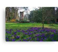 Water Tower, Bournemouth Canvas Print