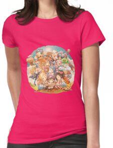 Warriors Friends Womens Fitted T-Shirt
