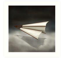 Paper Airplane 26 Art Print